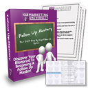 Become A Follow Up Fanatic!